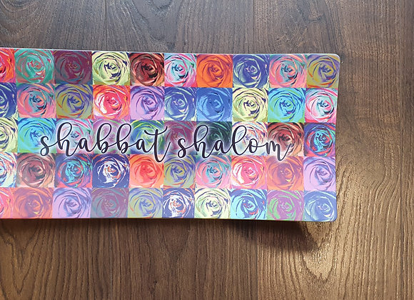 Imperfect Flowers Challah Tray