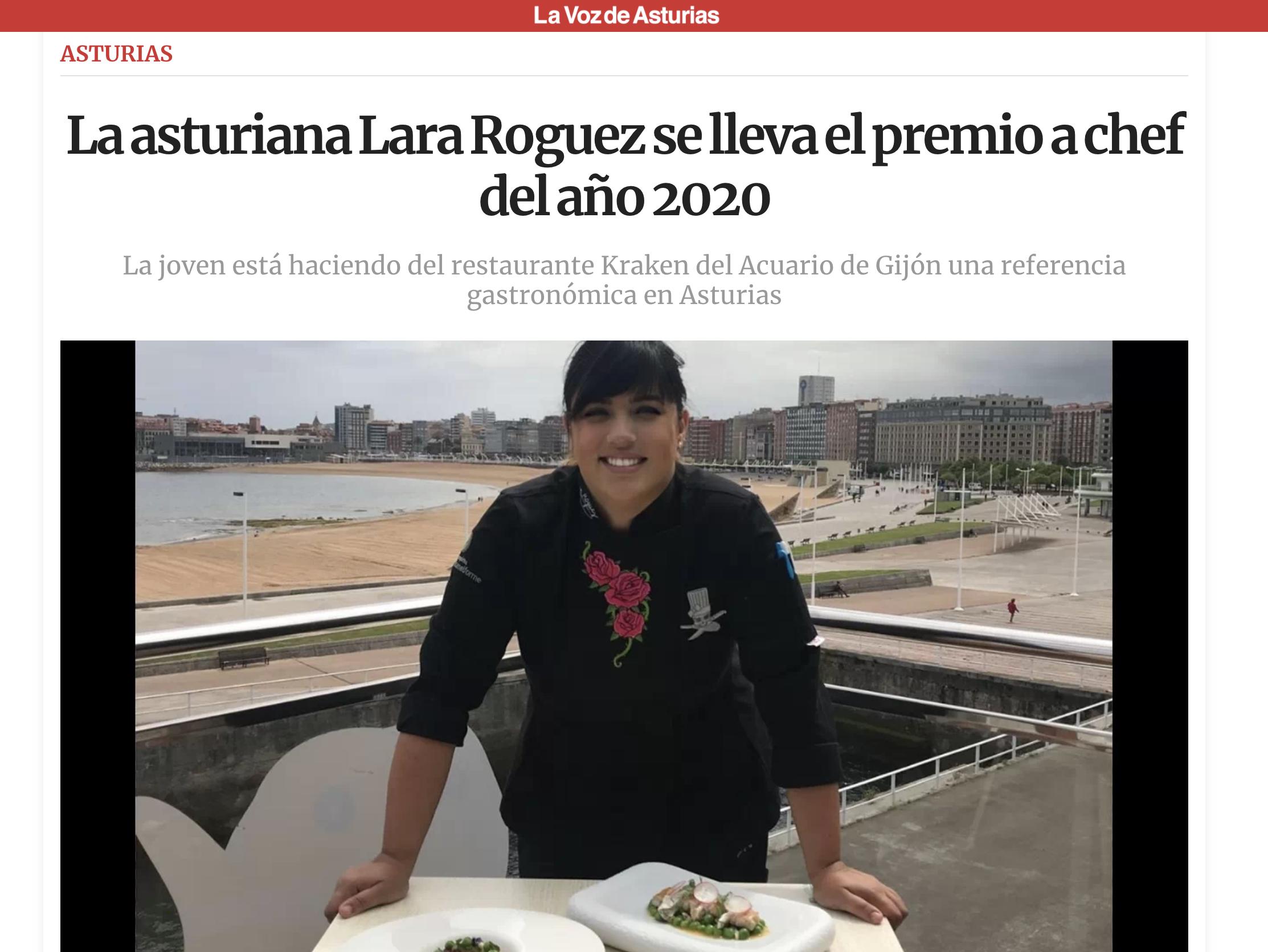 chef del año 2020