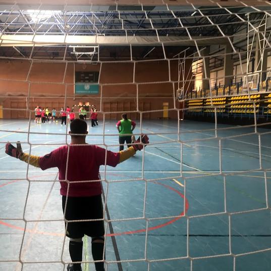 Partido de fútbol inclusivo