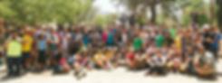 Acampamento de jovens judeus e arabes.pn