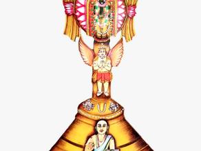 Sanctum 21 - Swami Vedanta Desikan, Lakshmi Hayagrivar and Lakshmi Narasimhar Sanctum