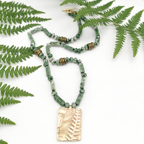 """Collier """"Nature tribale"""""""