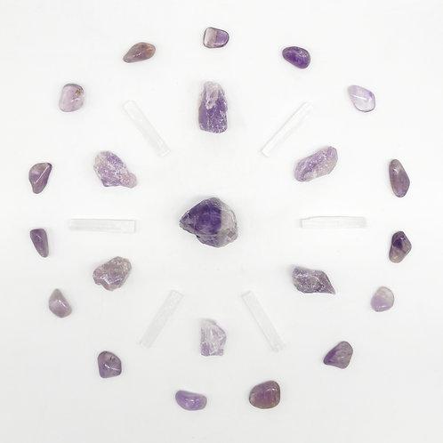 Mandala en pierres