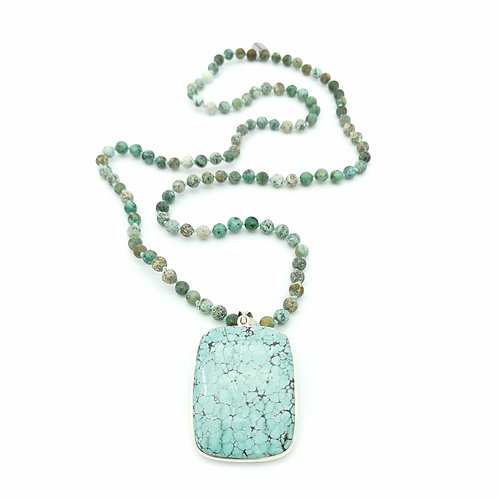 Mala turquoise claire