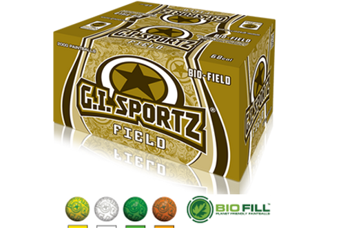 "G.I. Sportz Paintballs 2-Star Custom Field ""FF"""