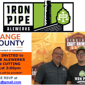 Ribbon Cutting Ceremony for Iron Pipe Alewerks