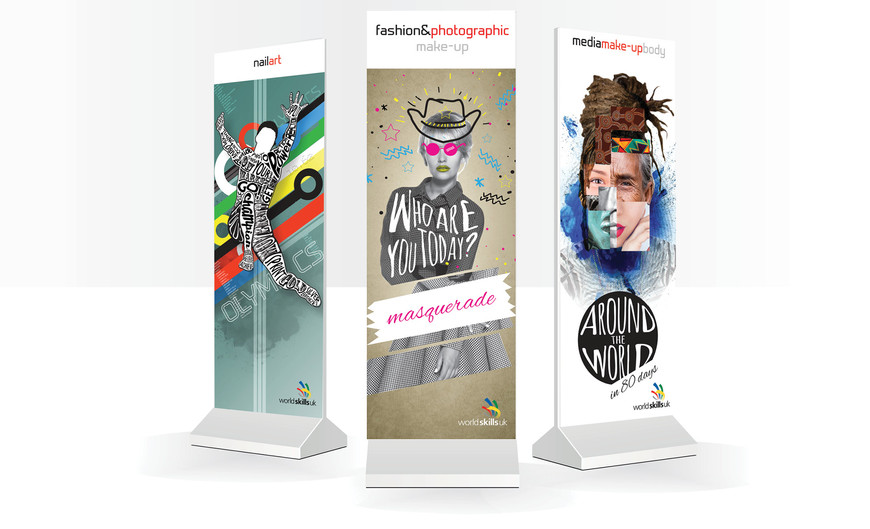 Pop-up banners