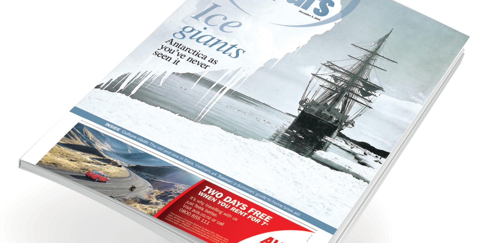 Sunday travel supplement (NZ)