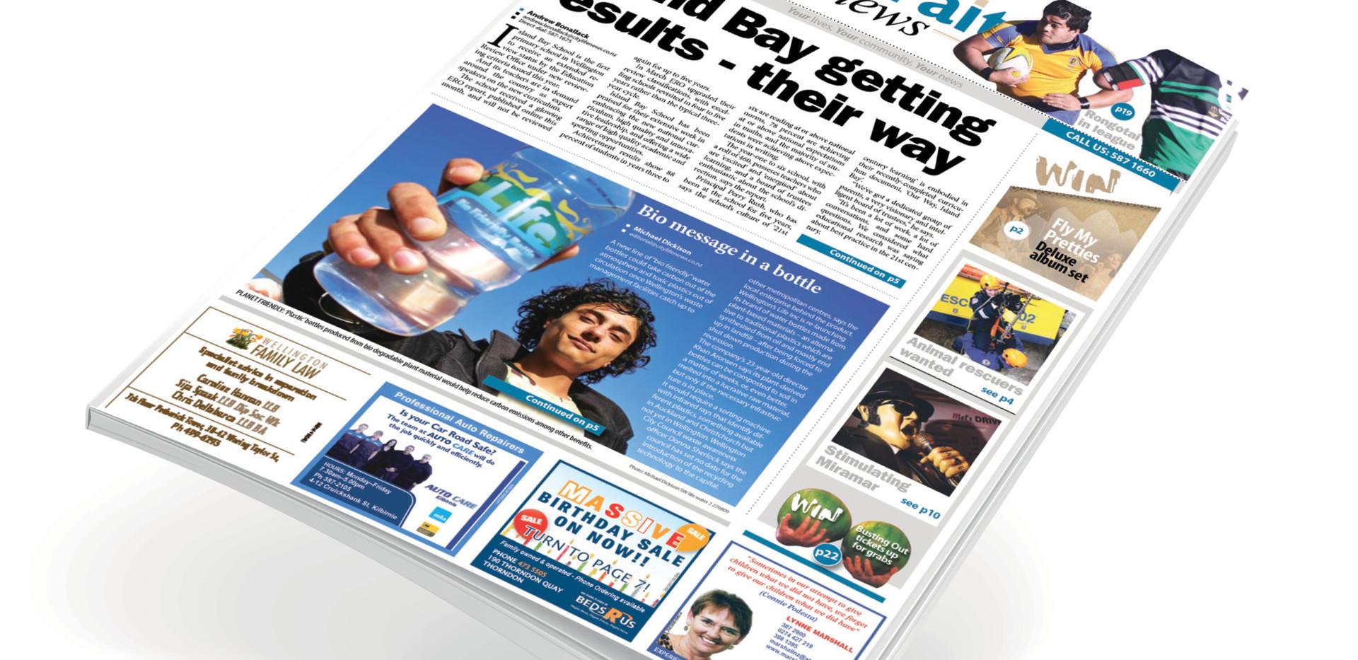 Local newspaper redesign (NZ)