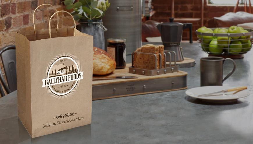 Branded paper bags