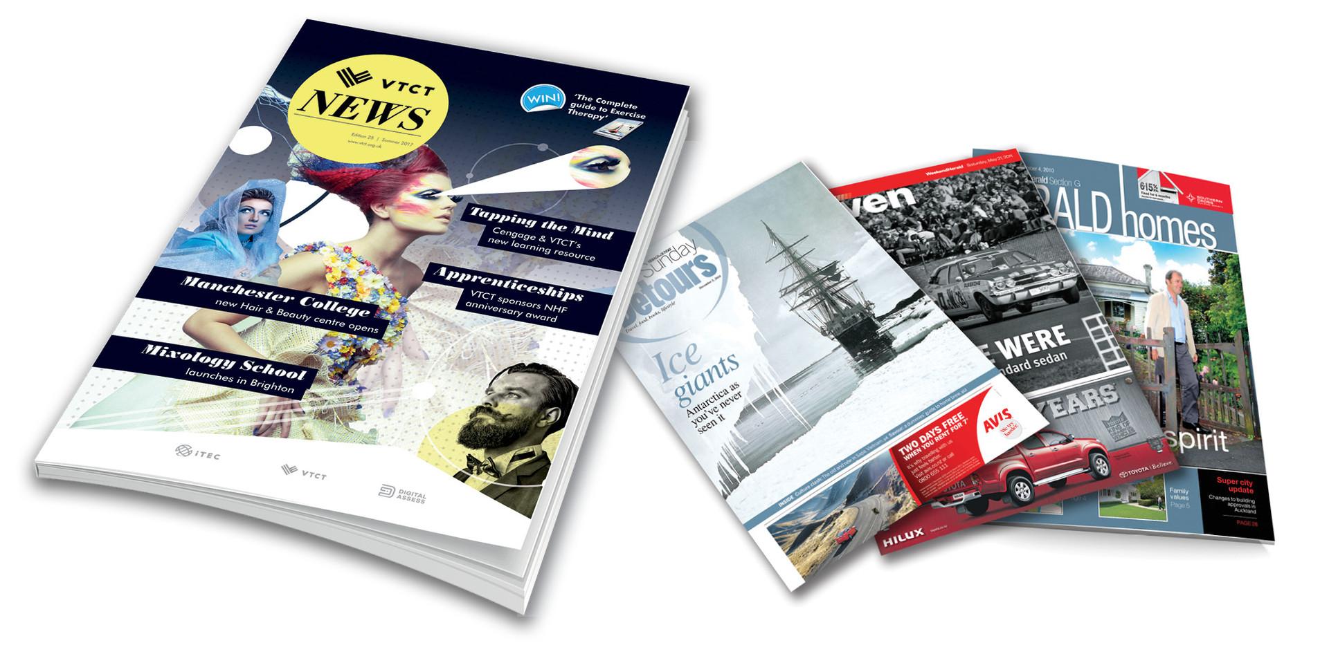 Publishing examples
