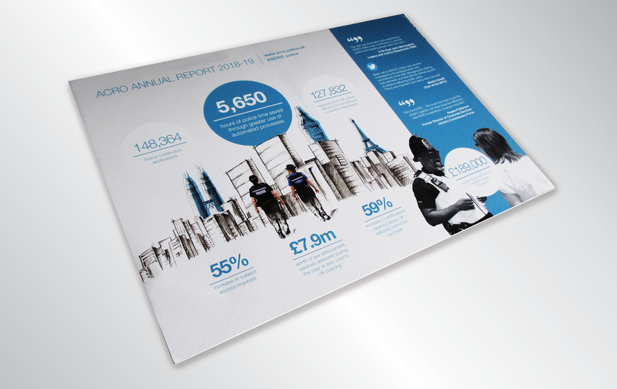 Annual report summary sheet