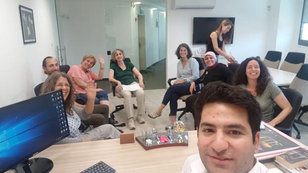 מפגש עם מר חאמדה, מייסד עמותת מרים בנצרת , מאי 2019