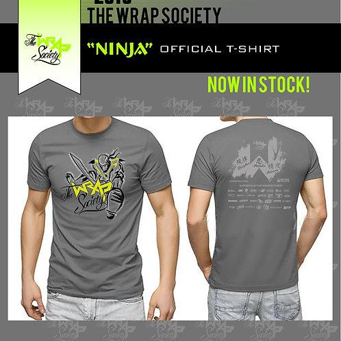 "THE WRAP SOCIETY - TWS ""NINJA"" OFFICIAL T-SHIRT Sizes S -5xL"