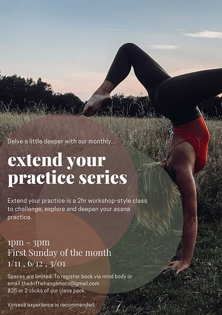 extend your practice workshop style clas