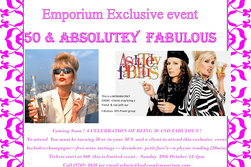 ABSOLUTELY FABULOUS EVENT