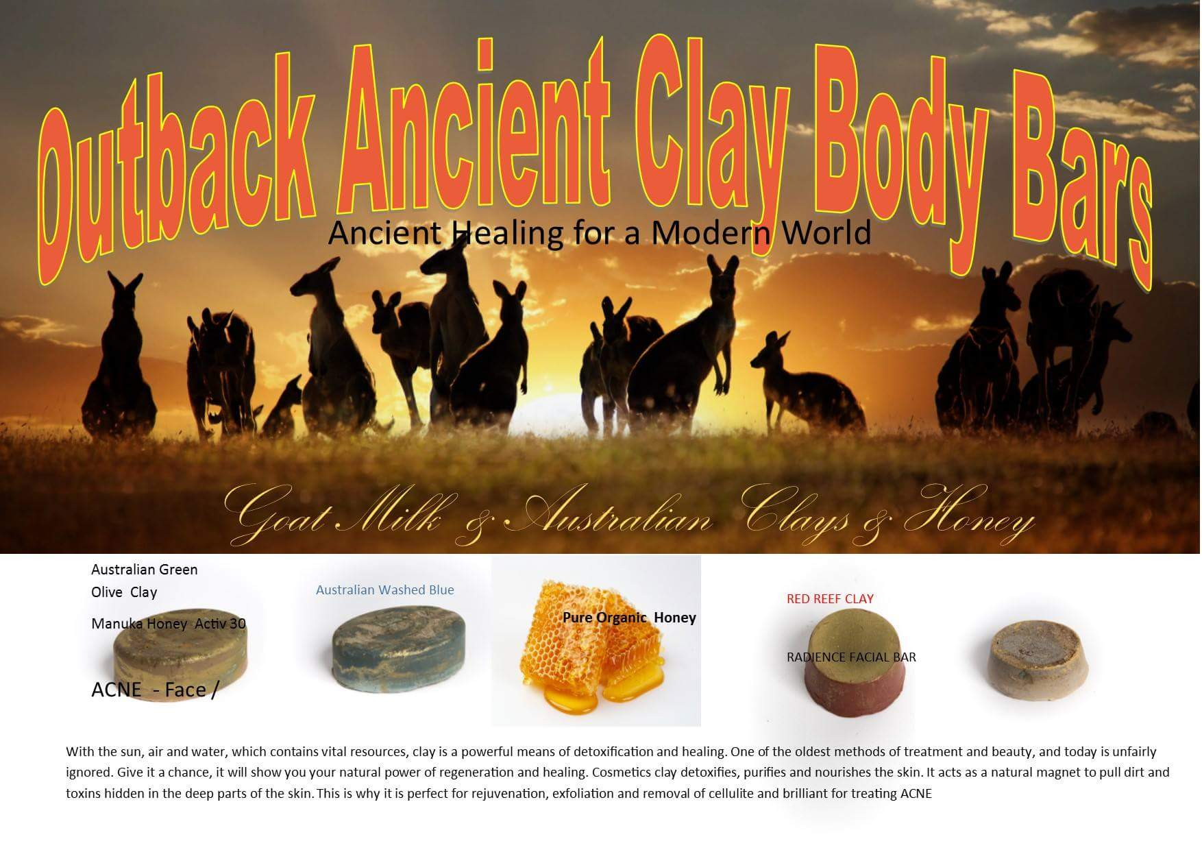 Ancient Clay Body Bars