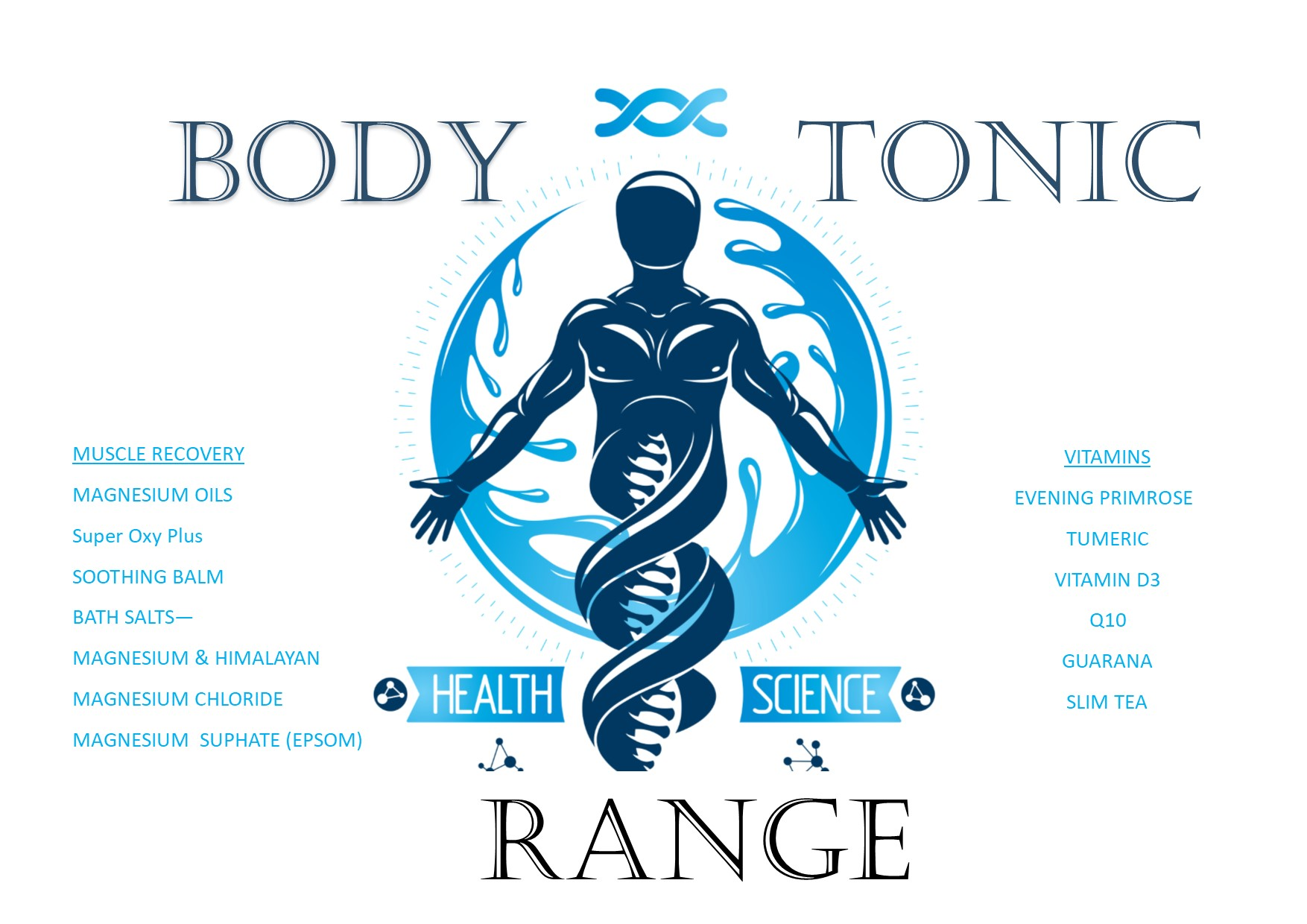 BODY TONIC RANGE