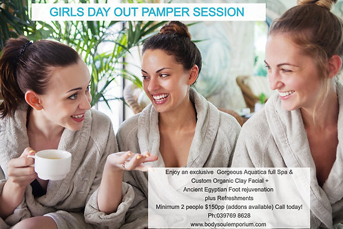 Girls Day Out Pamper Session