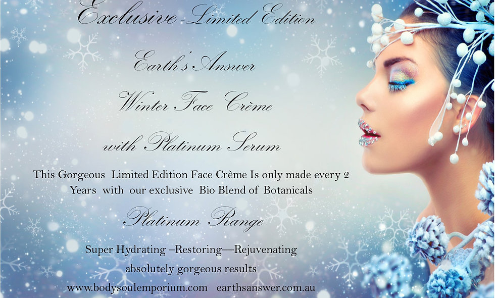 Platinum Winter Face Creme