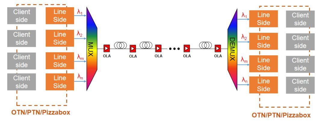 Coherent Applications: DWDM Long-Haul Transmission