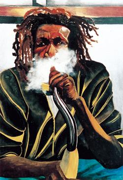 Le fumeur de Kaya