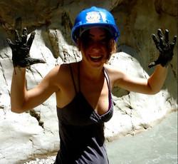 Muddy hiking in Turkey