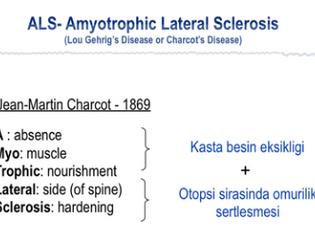 Aslı'nın ALS Üzerine Doktora Çalışmaları