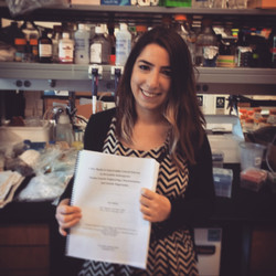 Holding the 1st draft omy PhD thesis