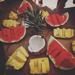 #Fruit break in #costarica
