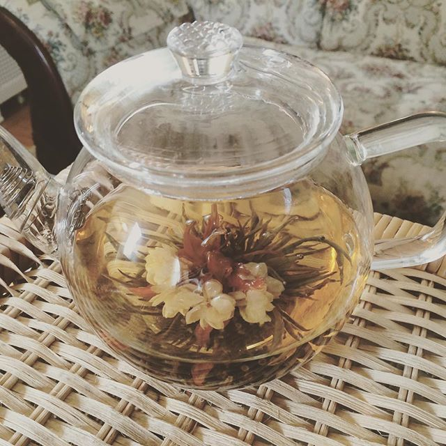 Jasmine Flower Tea it is!