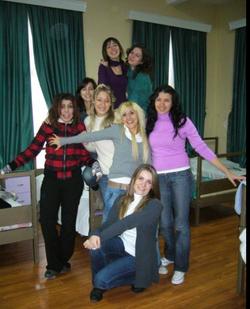 High school dormitory friends