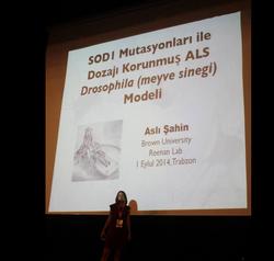 Presenting my thesis work in Turkey