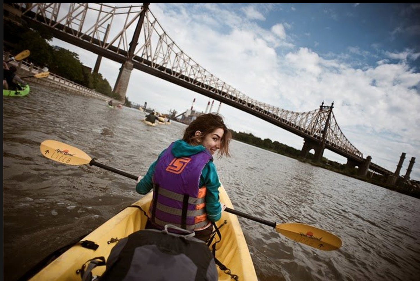 Kayaking in NYC