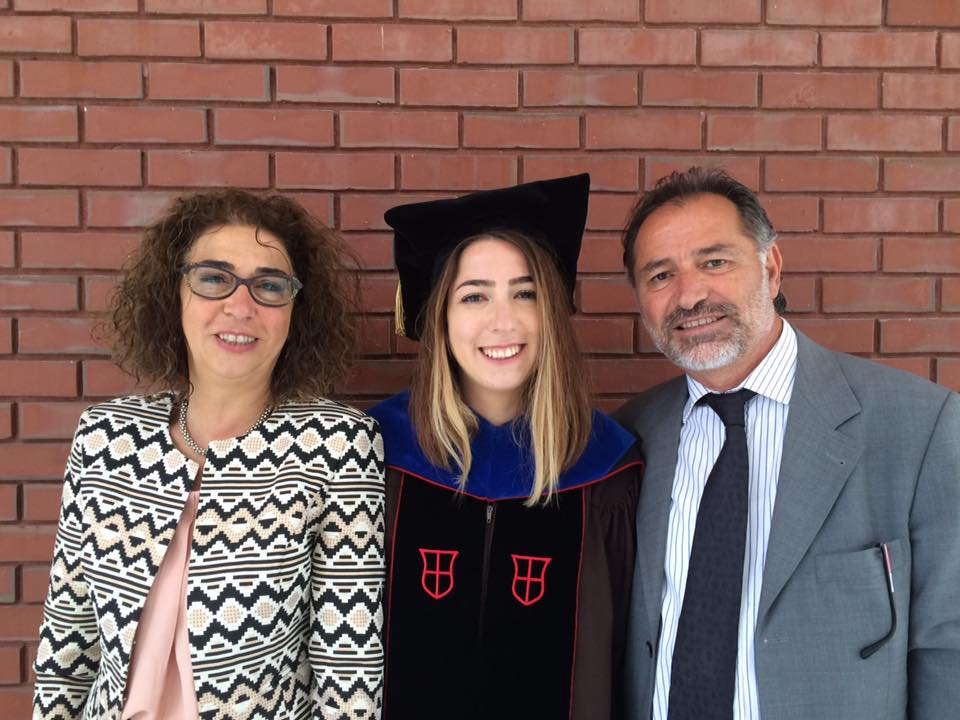 Parents at my PhD Graduation