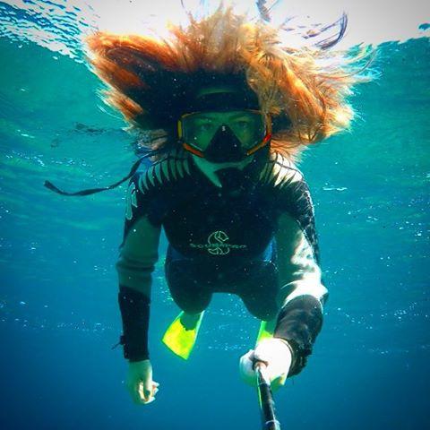 Einstein Underwater