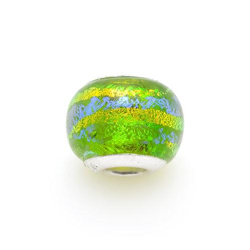 Glass Bead | Palm Green