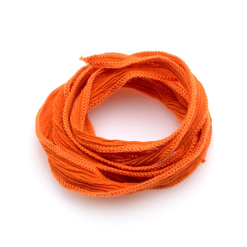Silk wrap | Orange