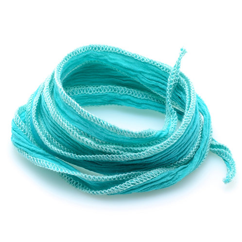 Silk wrap | Sea Foam green