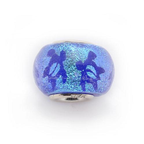 Glass Bead | Petro Turtle - Blue