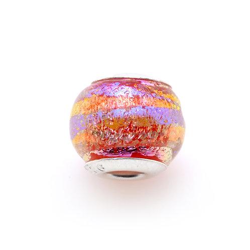 Glass Bead | Pink Sunrise