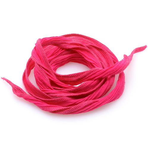 Silk wrap | Deep Pink