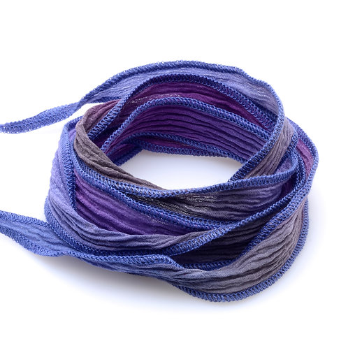 Silk wrap | Purple Fade