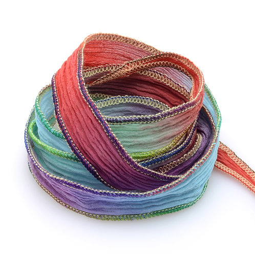 Silk wrap   Maui Rainbow