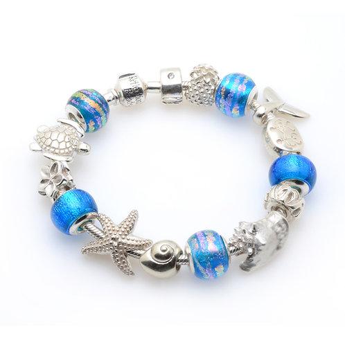 Blue Waves Bracelet