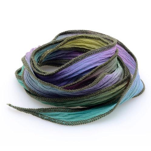 Silk wrap | Jungle Rainbow