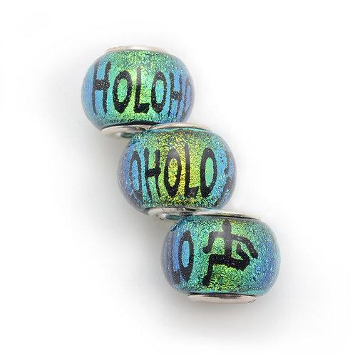 Glass Bead | Holoholo - Green