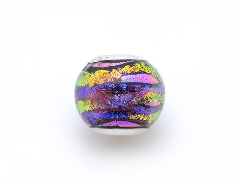 Glass Bead | Purple Orchid