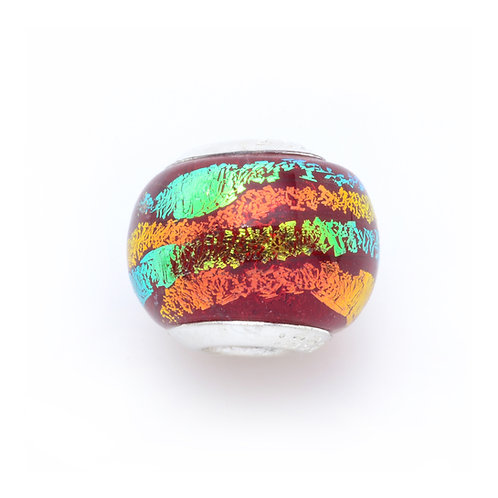 Glass Bead   Hot Lava