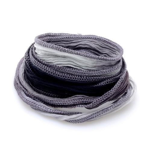 Silk wrap | Charcoal Fade